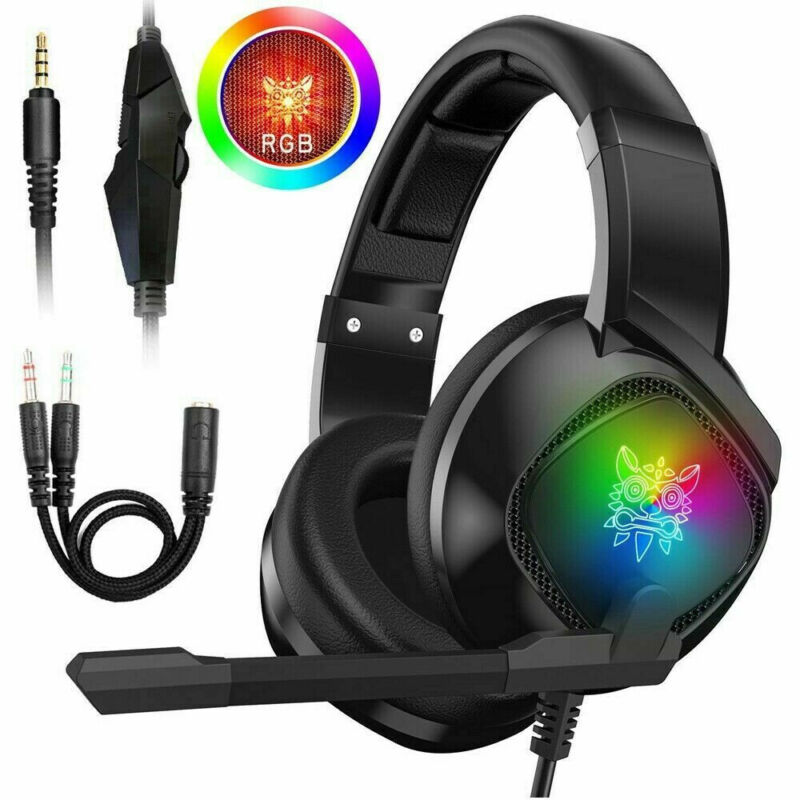 3.5mm Gaming Stereo Headset LED Headphone For Xbox onePS4