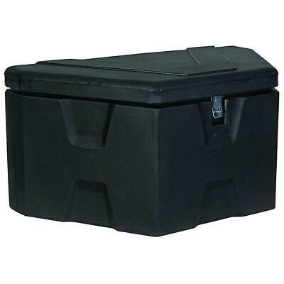 36 in. trailer tongue black polymer tool box | truck buyers products latch lid (Black Truck Tool Box)