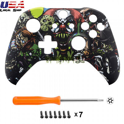 Custom Scary Party Soft Touch Replace Top Shell For Xbox One X One S Controller