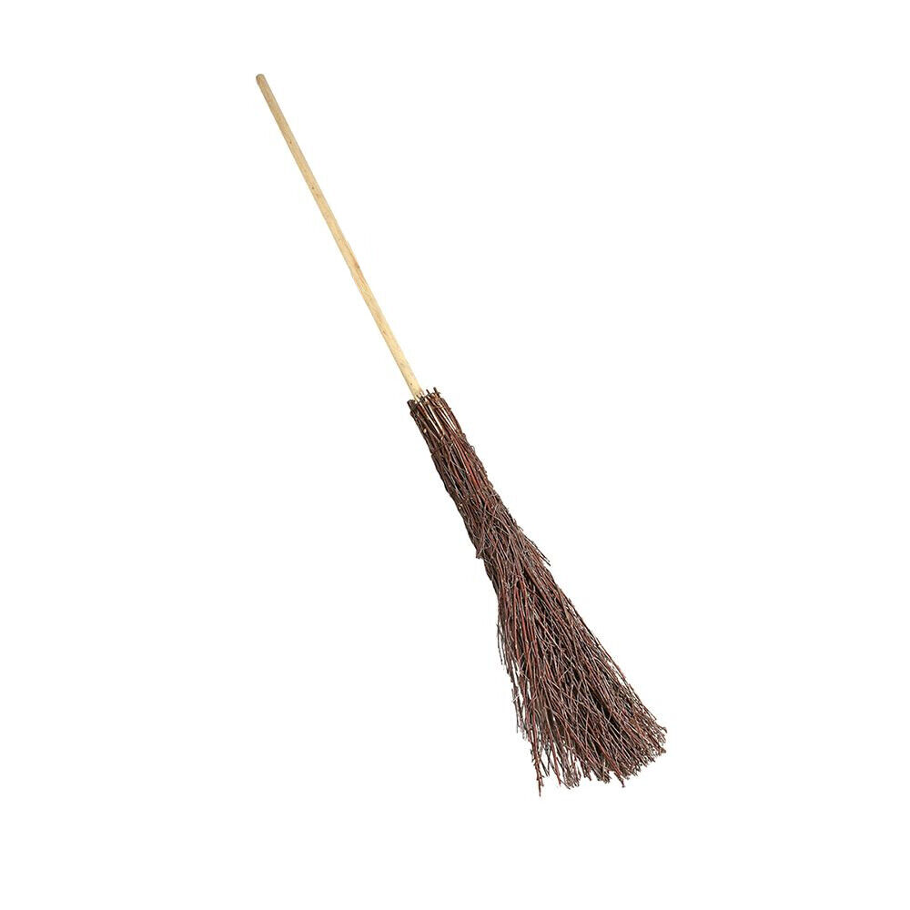 140cm Besom Broom Witches Broomstick Decoration for Halloween Theater Movie 369 1