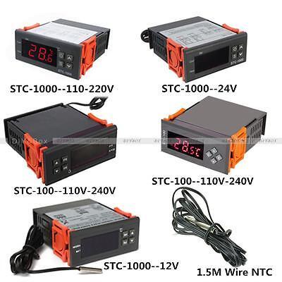 12v24v110v220v Stc-1001000 Digital Temperature Controller Thermostat Wntc