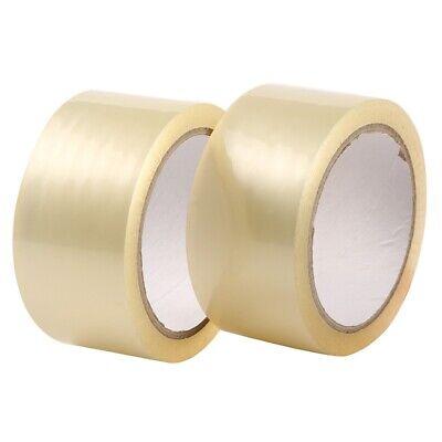 12 Rolls Carton Sealing Clear Packing Tape Box Shipping - 2.7 Mil 1.8 X 60 Yard