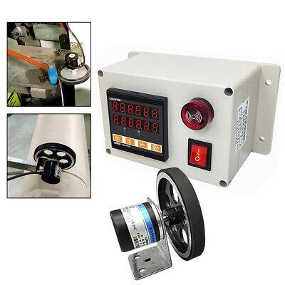 Digital Meter Counter 300ppr Rotary Encoder Electronic Length Testing Equipment