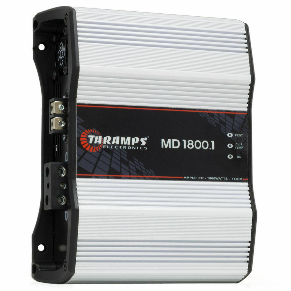 Taramps MD 8000.1 2 Ohms 8000 Watts Class D Full Range Mono Amplifier