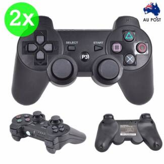 2x Wireless Bluetooth Game Console Controller for PS3 NEW Silverwater Auburn Area Preview