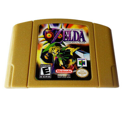Zelda The LEGEND OF MAJORA'S MASK for Nintendo 64 N64 Game Card US Version comprar usado  Enviando para Brazil