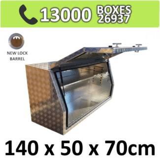 Aluminium Side Full Opening Toolbox Truck Ute Trailer Box 1457FD