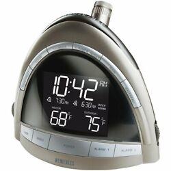 Homedics SoundSpa Premier Clock Radio Nature Sound Projection SS-5010