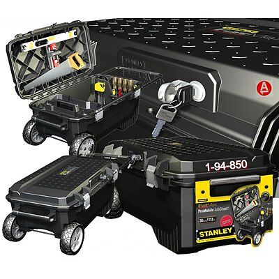 Stanley FatMax Pro Mobile 30 Gallon Tool Chest 1-94-850 Workshop Tool Box Mobile