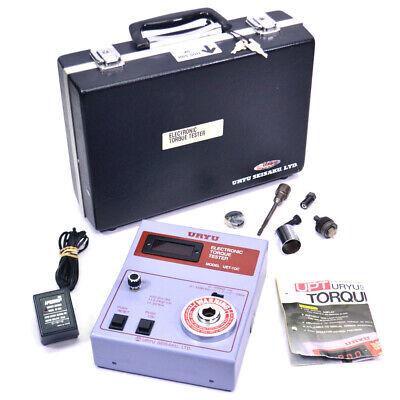 Uryu Uet-10c Electronic Torque Tester 12 100.0in-lbs 11.30nm 115.2kgf-cm Case