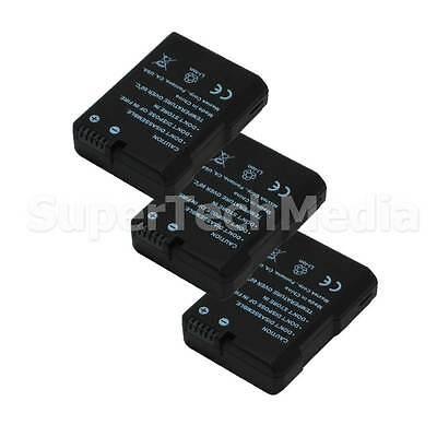 3 Decoded Battery For Nikon EN-EL14 DSLR D3100,D3200,D5100,D5200 USA Seller for sale  Shipping to India