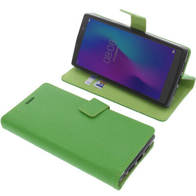 Case For Doogee N100 Book-Style Protective Case Phone Case Book Green