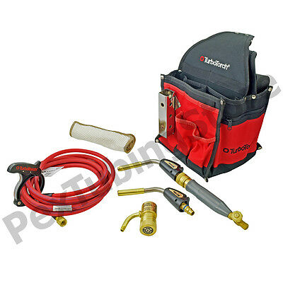Turbotorch 0386-1397 Pl-dlxpt Deluxe Portable Torch Kit Map-propropane