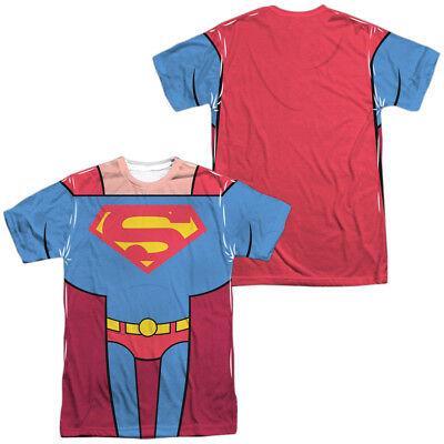 Superman Teen Costume (TEEN TITANS GO SUPERMAN COSTUME Lic. Men's Graphic Tee Shirt)
