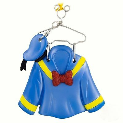 Disney Parks Donald Costume / Sailer Outfit & Hat on Hanger Christmas Ornament