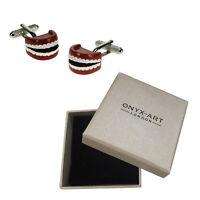 Da Uomo Di Lusso Gemelli Denti Da Onyx Art Dentisti Regalo -  - ebay.it