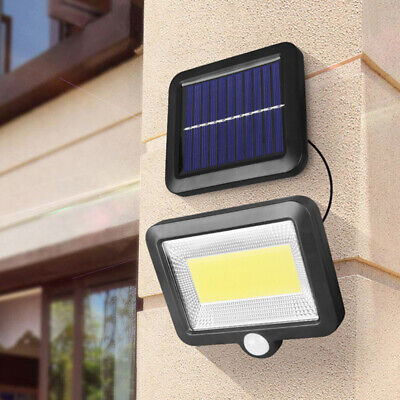 COB 100 LED Solar Luz de Pared Impermeable Sensor de Movimiento Lámpara...