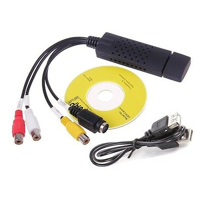 USB 2.0 DVR Video Audio Camera CCTV Capture Recorder Adapter Card for MAC H6I1
