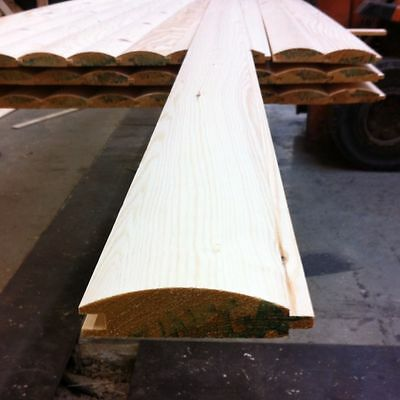 LOGLAP T&G PINE REDWOOD CLADDING 85X22 - 100 METERS  for sale  Shipley