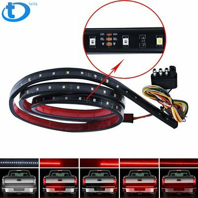 "48"" LED Tailgate Light Bar Triple Row 5-Function Strip for Pickup Trailer SUV US segunda mano  Embacar hacia Mexico"