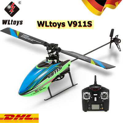 WLtoys V911S 4CH 6G RC Hubschrauber Ferngesteuertes Helikopter Spielzeug Drohne