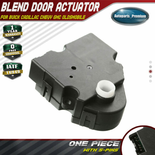 A-Premium HVAC A//C Heater Blend Door Actuator for Chevrolet Tahoe Cadillac Escalade GMC Yukon 2007 2008 Auxiliary
