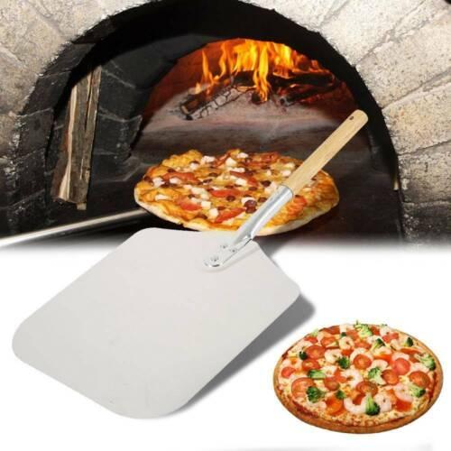 Pizzaschaufel Pizzaheber Pizzaschieber Pizzawender rund 25cm 150cm Stiellänge