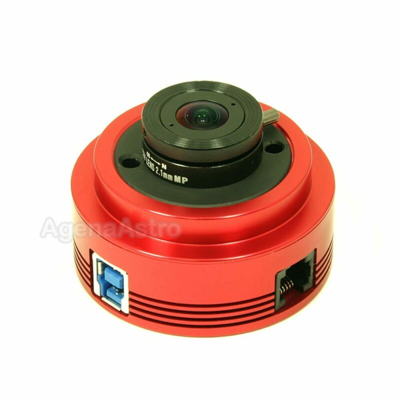 ZWO ASI120MM-S 1.2 MP CMOS Monochrome Super Speed Astronomy Camera with USB 3.0