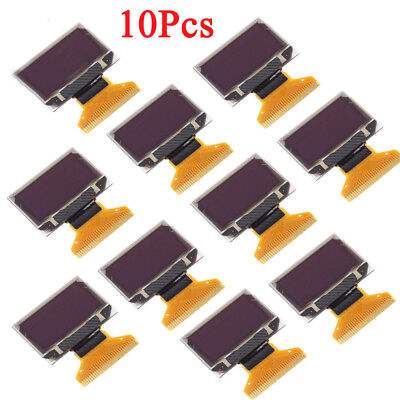 10pcs 0.96in 128x64 White Oled Lcd Led Display 12864 0.96 Ssd1306 For Arduino