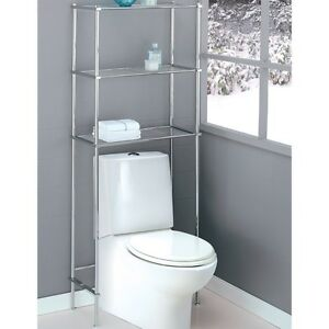 Over the toilet space saver