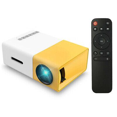 Portatile LCD LED Proiettore HD 1080P 400 Lumens USB AV Micro SD per iPhone P9G5