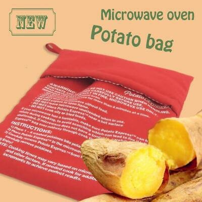 Microwave Potato Express Corn Bread Tortillas Cooker Baked Bag Washable Reusable