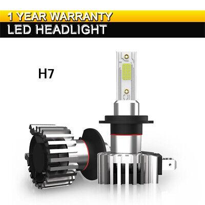 H7 LED Headlights Bulbs Kit High Low Beam 60W 13200LM Super Bright 6500K (Best Luxury Suv 2019)