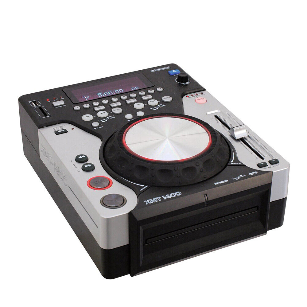 Omnitronic XMT-1400 CD Player CDJ USB MP3 DJ