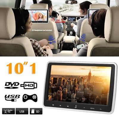 10.1''Auto Kopfstütze LCD Monitor DVD Player USB/SD/HD/FM/Spiel Touch-Taste H5A9