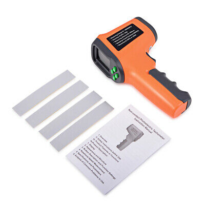 Handheld Non Contact Digital Tachometer Tach Rotate Speed Meter Rpm Tester Usa