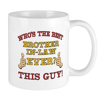 CafePress Best Brother In Law Ever Mug 11 oz Ceramic Mug