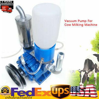 Vacuum Pump For Cow Milking Machine Milker Bucket Tank Barrel 250lmin Device Us