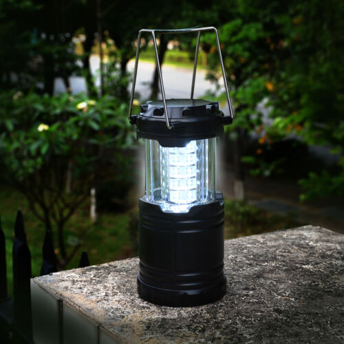 2pcs Portable 30 LED Outdoor Camping Lantern Bivouac Hiking Fishing Light Lamp