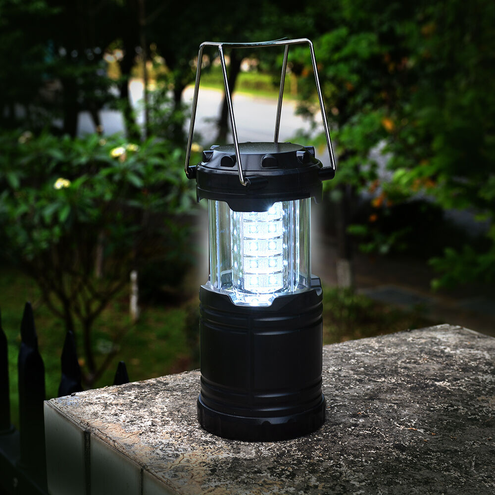 Outdoor Lights Portable: Portable 30 LED Outdoor Camping Lantern LED Hiking Night