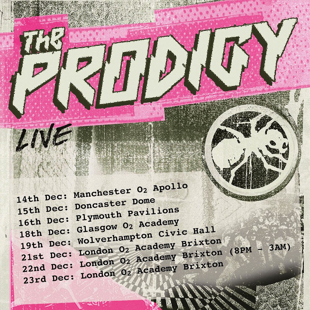 1 x Standing ticket The Prodigy at Brixton