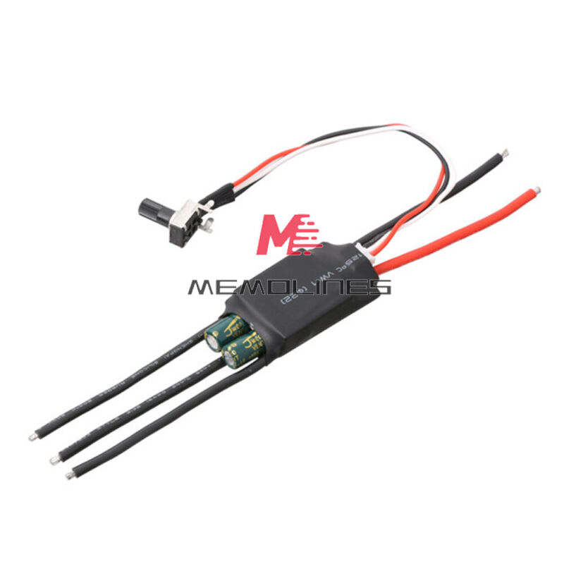 3 Phase Brushless Hall Motor Pump Driver Esc Speed Controller Dc6-24v 200w 1000w