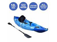 Bluefin Swift Single Fishing Kayak. The ultimate single fishing and leisure kayak.