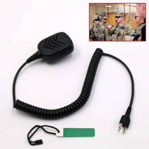 Speaker/Microphone For the Midland 75-822 and Cobra HH-38WXST Handheld Shoulder