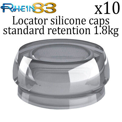 10x Rs Dental Implant Locator Silicone Standard Retention Caps Professional Use