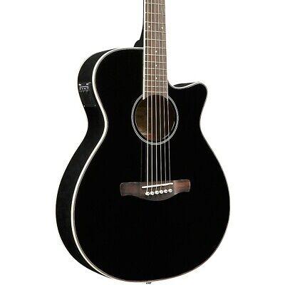 Ibanez AEG8E Cutaway Acoustic-Electric Guitar Gloss Black
