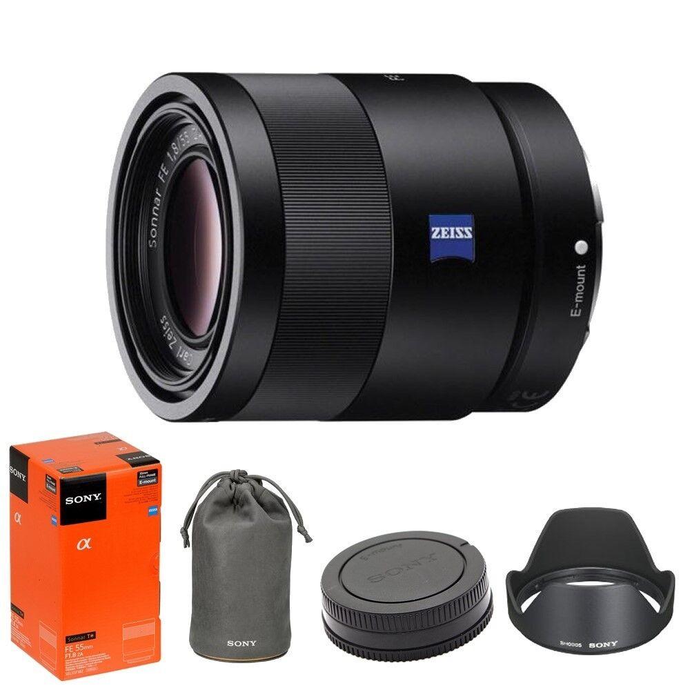 Купить Sony SEL55F18Z - Sony Sonnar T* FE 55mm f/1.8 ZA Carl Zeiss Lens