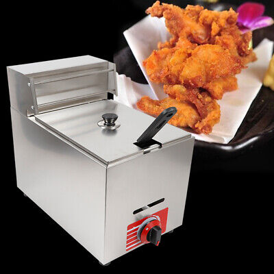 10l Commercial Countertop Gas Fryer Kld-71 Propane Lpg Deep Fryer W 1basket