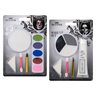 Halloween Make Up Set Grim Reaper Or Horror Ghost (Grim Reaper Make-up)