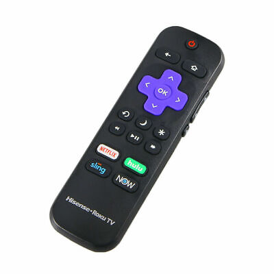 New Original OEM Hisense Roku TV Remote with TV Power button & Volume Control US